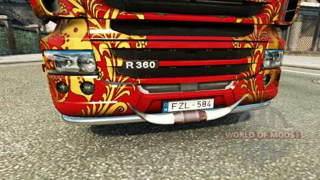 Taureau cornes pour Euro Truck Simulator 2