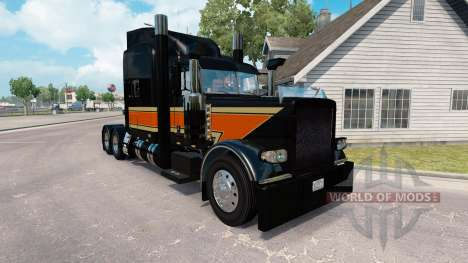 Le Sommet Plat de Transport de la peau pour le camion Peterbilt 389 pour American Truck Simulator