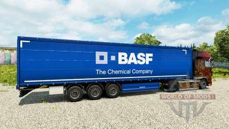 BASF de la peau pour les remorques pour Euro Truck Simulator 2