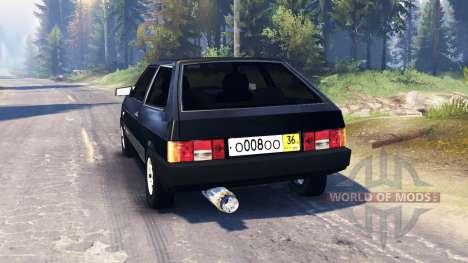 VAZ-2108 v2.0 pour Spin Tires