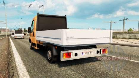 Peugeot Boxer Pick-up für Verkehr für Euro Truck Simulator 2