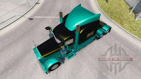 4 peau Métallique pour le camion Peterbilt 389 pour American Truck Simulator