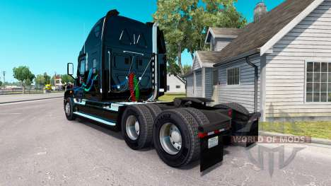Jean Christner de la peau sur Freightlin camions pour American Truck Simulator