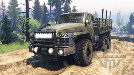 Ural-4320-10 v2.0 für Spin Tires