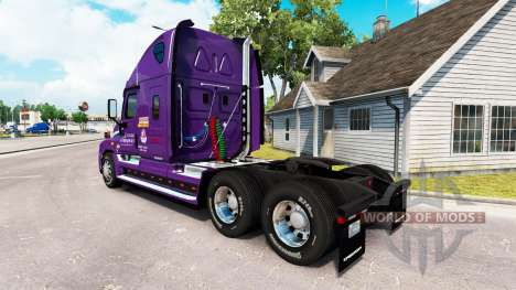 Haut-Pakt über die Zugmaschine Freightliner Cascadia für American Truck Simulator