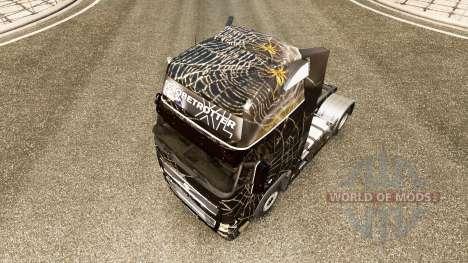 Araignee de la peau pour Volvo camion pour Euro Truck Simulator 2