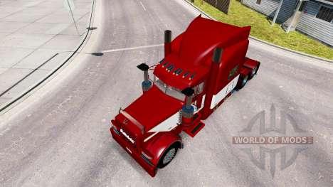 Скин Rethwisch Transport LLC на Peterbilt 389 pour American Truck Simulator