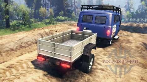 UAZ-2206 v2.0 für Spin Tires
