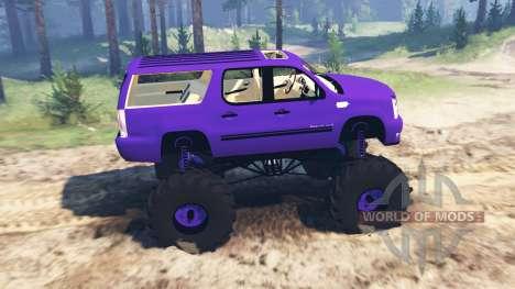 Cadillac Escalade ESV für Spin Tires