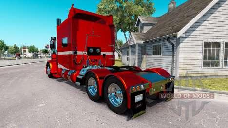6 Metallic-skin für den truck-Peterbilt 389 für American Truck Simulator