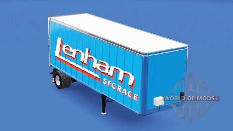 Haut Lenham auf den trailer für American Truck Simulator