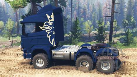 Scania R730 v2.0 pour Spin Tires