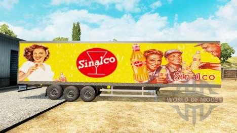 Narko Auflieger Sinalco für Euro Truck Simulator 2