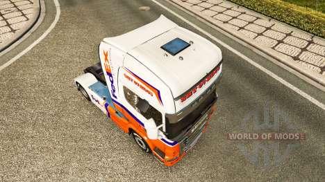 FedEx Express skin für Scania-LKW für Euro Truck Simulator 2