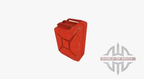 D'essence en acier jerrican 20 litres pour Farming Simulator 2017
