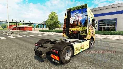 L'indonésie peau pour Volvo camion pour Euro Truck Simulator 2
