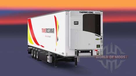 Semi-trailer-Kühlschrank Chereau Transrocamar für Euro Truck Simulator 2