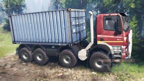 Tatra Phoenix T 158 8x8 v7.0 für Spin Tires