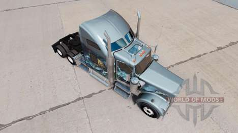 Haut Viking für LKW-Kenworth W900 für American Truck Simulator