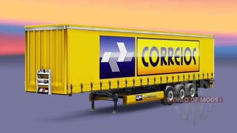 Correios de la Logistique de la peau pour les re pour Euro Truck Simulator 2