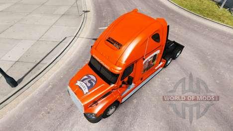 Haut in die SCHNEIDER-LKW Freightliner Cascadia für American Truck Simulator