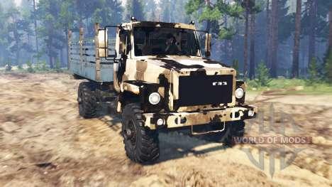 GAZ 3308 Sadko für Spin Tires
