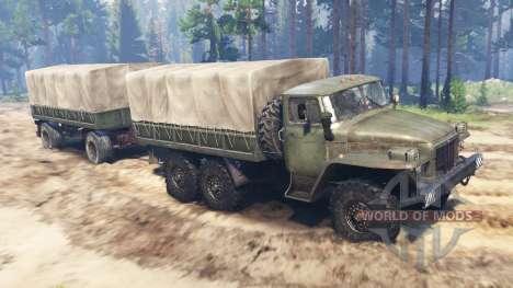 Ural-375 v2.0 pour Spin Tires