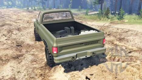 Chevrolet K5 Blazer M1008 pour Spin Tires