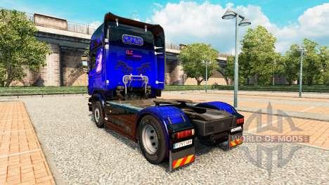 La peau de SON Transport International sur tract pour Euro Truck Simulator 2