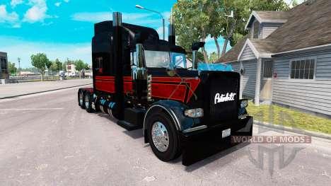 La peau de Vipère v2.0 tracteur Peterbilt 389 pour American Truck Simulator