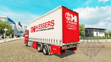 H. Essers-skin für MAN TGX-LKW-Traktor Tandem für Euro Truck Simulator 2