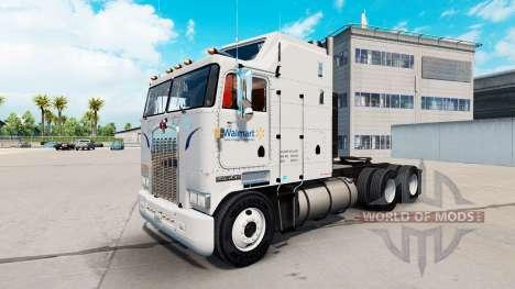 Walmart Haut für Kenworth K100 LKW für American Truck Simulator
