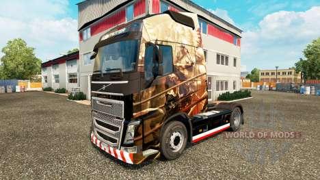 Husaria-skin für den Volvo truck für Euro Truck Simulator 2