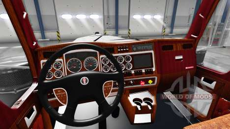 Innenraum für Kenworth W900 für American Truck Simulator