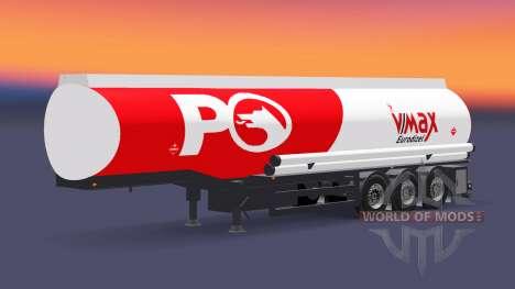 Carburant semi-remorque Petrol Ofisi pour Euro Truck Simulator 2