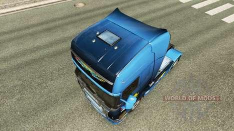 La catastrophe de Transport de la peau pour Scan pour Euro Truck Simulator 2