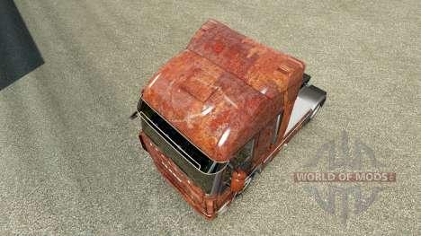 Haut Rusty auf der LKW-Iveco für Euro Truck Simulator 2
