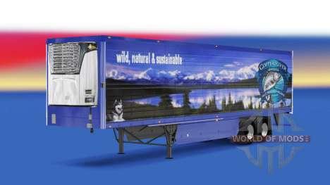 La peau de Cuivre de la Rivière des produits de  pour American Truck Simulator