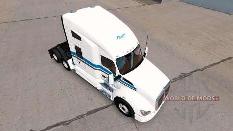 Haut Eskimo Express Zugmaschine Kenworth für American Truck Simulator