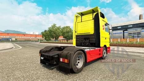 Sinalco de la peau pour Mercedes Benz camion pour Euro Truck Simulator 2