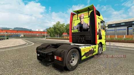 La peau Bulent Ceylan en camion Mercedes-Benz pour Euro Truck Simulator 2