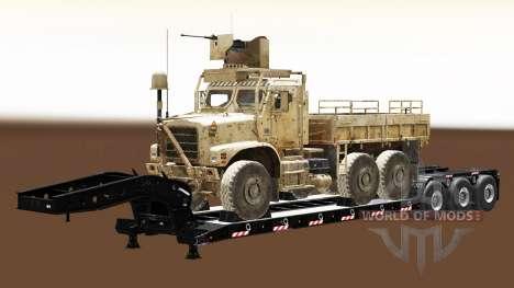 Semi Durchführung militärischer Ausrüstung v1.5 für Euro Truck Simulator 2