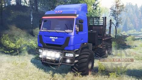 Le Yamal-6 v6.0 pour Spin Tires