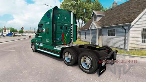 La peau de l'INTERSTATE camion Freightliner Casc pour American Truck Simulator