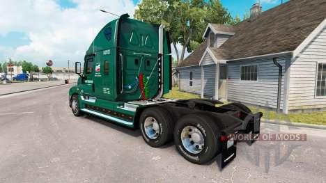 La peau de l'INTERSTATE camion Freightliner Cascadia pour American Truck Simulator