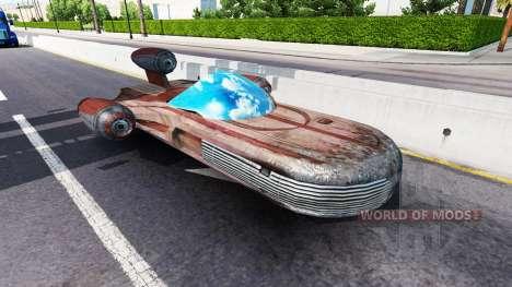 Der Verkehr aus der Zukunft für American Truck Simulator