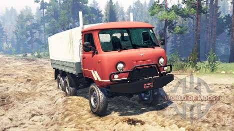 UAZ-33036 6x6 für Spin Tires