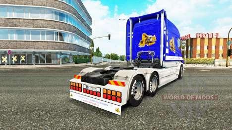 Scania T Longline [T. van der Vijver] pour Euro Truck Simulator 2