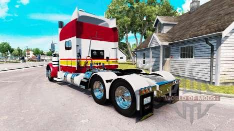La peau IN-N-OUT pour le camion Peterbilt 389 pour American Truck Simulator