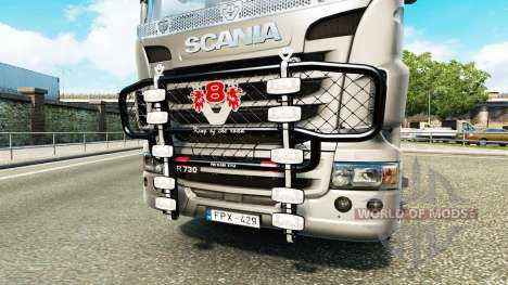 Die Stoßstange V8 v3.0 LKW Scania für Euro Truck Simulator 2